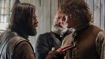 Sam Heughan et Duncan Lacroix réunis : Murtagh revient-il sur Outlander pour surprendre Jamie Fraser ?